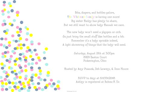sprinkle baby shower invitations template best template