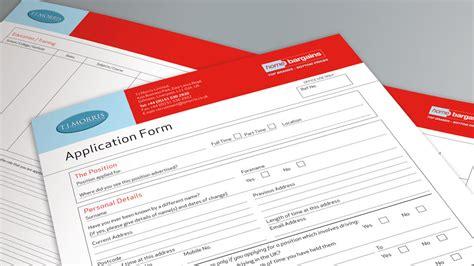 design an application form application form design cheshire london cambridge