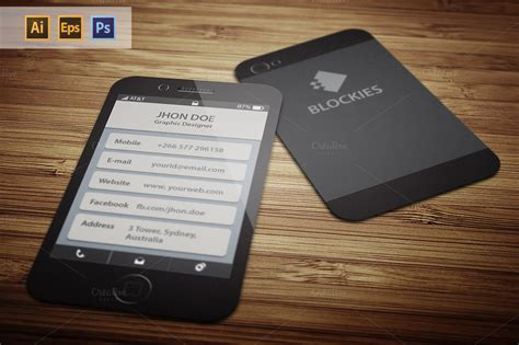 iphone business card template iphone 6 35 business card business card templates