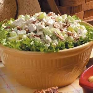 grape turkey salad recipe taste of home