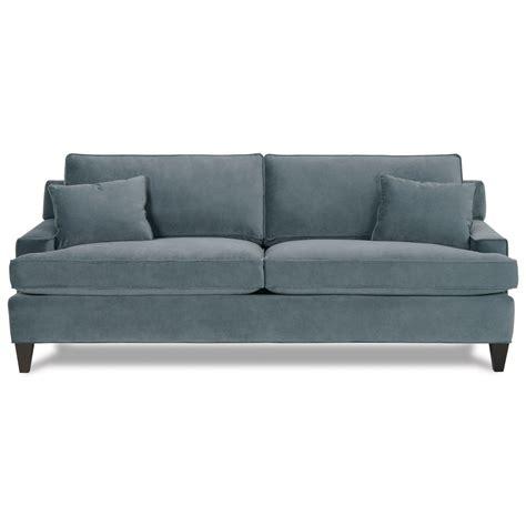 stationary sofa rowe chelsey upholstered stationary sofa reeds furniture