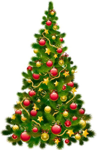 large transparent christmas tree  ornaments clipart whimsical christmas decor christmas