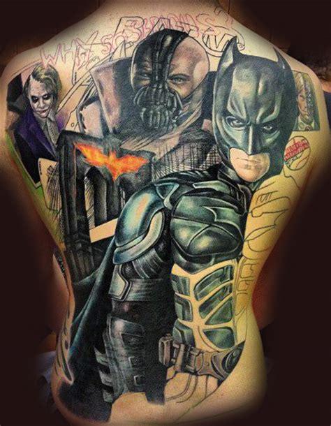 joker tattoo back piece batman back piece by dublinink on deviantart
