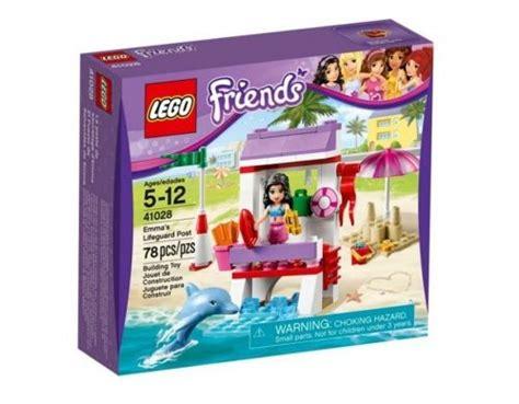 Lego 41028 Emmas Lifeguard Post lego friends спасителния пост на емма 41028