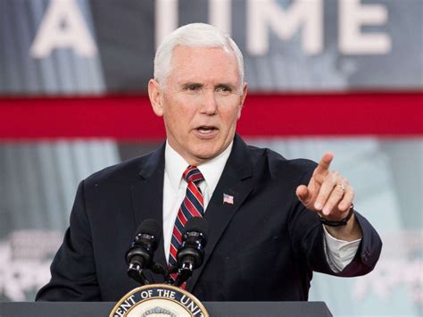 vice presidente vice president mike pence tip of the spear in 2018