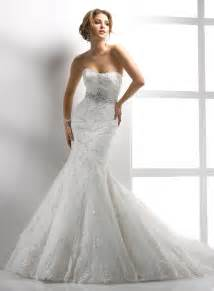 Elegant mermaid wedding dresses fashion urge
