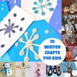 10 winter crafts that kids will love