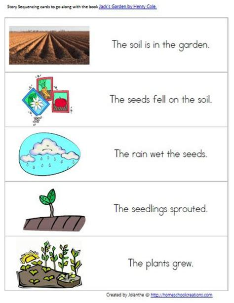 Garden Activities For Preschoolers Gardening Preschool Pack From Homeschool Creations