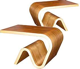 Brancusi Armchair Wood Foundation 3d