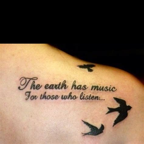 music tattoo quotes tumblr love it only on my ribs it vibes with my hippy