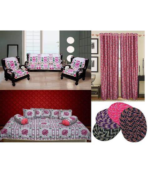 sofa and curtain combination fk multicolour floral sofa cover divan set curtain