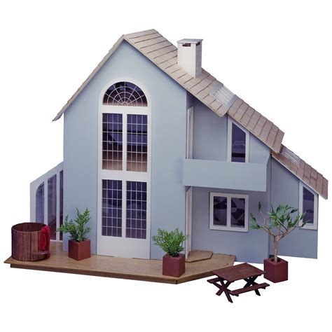 dollhouse kits greenleaf brookwood dollhouse kit 1 inch scale