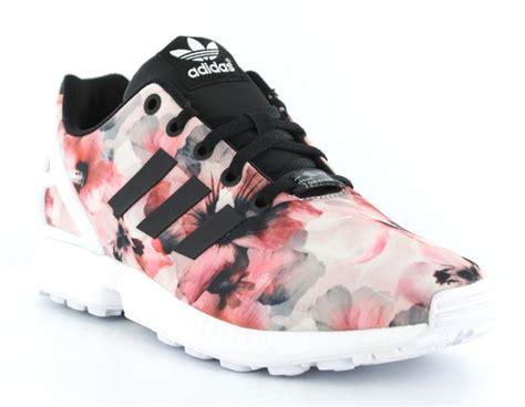 Adidas Zx Flux Black 36 7 Aq2936 adidas zx flux femme floral blanc achat vente de