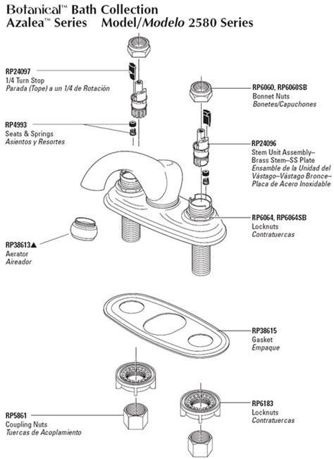 Delta Shower Faucet Repair Diagram by Pfister Kitchen Faucet Repair Parts Quotes