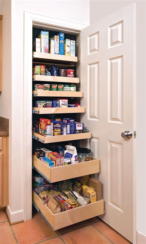 Closet Doors For Tight Spaces by Tight Vertical Pantry Cabinets With Doors And Two Sided