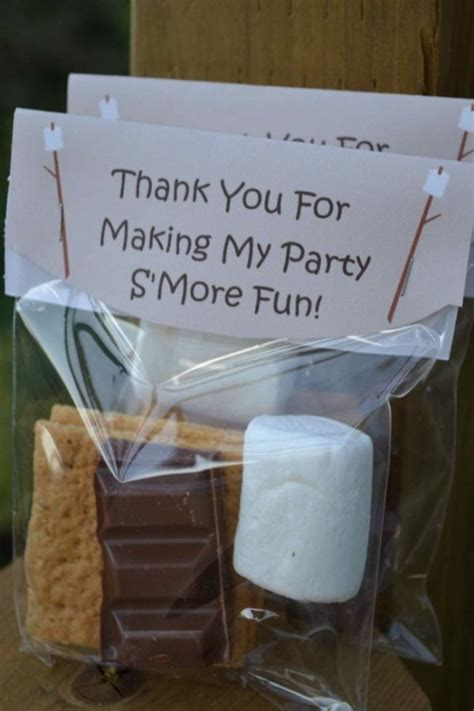 Camping Party Favors  Totally Awesome Party Favors For