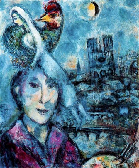 biography of a con artist self portrait 1959 1968 marc chagall wikiart org