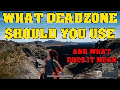 pubg deadzone best dead zone aiming setting xbox one x pubg personal