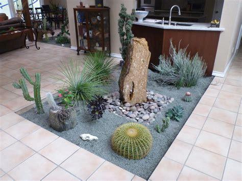indoor cactus atrium mediterranean landscape houston