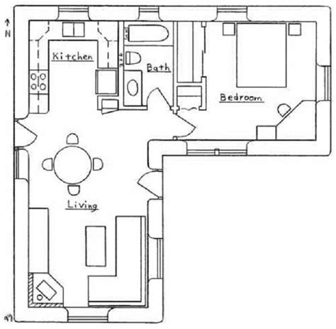 31 Best Images About Floor Plans Under 1000 Sq Ft On House Plans 1000 Square And