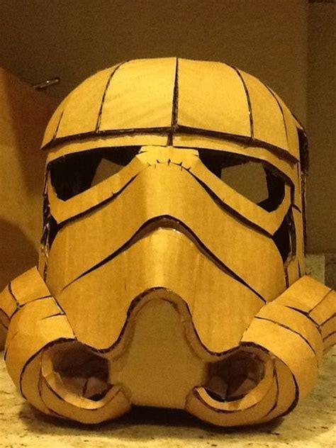 How To Make A Paper Stormtrooper Helmet - best 25 diy cardboard ideas on paper light