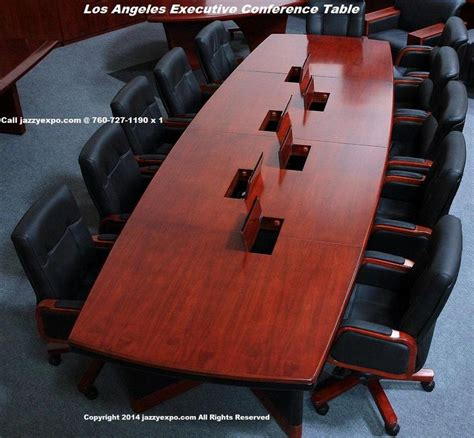 conference table with data ports 7 best executive conference table los angeles model by