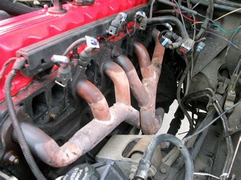 jeep exhaust manifold replacement 91 98 jeep