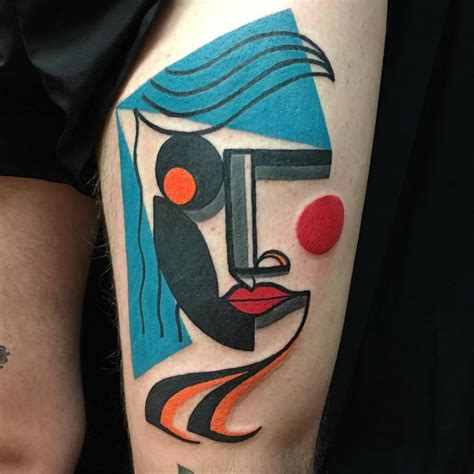vibrant tattoos that pay magnificent tribute to the iconic