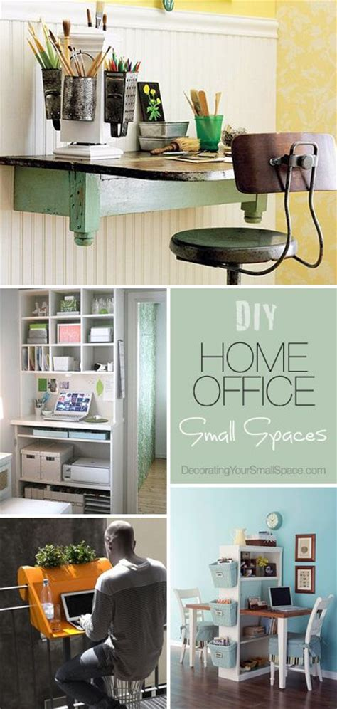 Small Home Office Diy Diy Home Office For Small Spaces Ideas Tutorials
