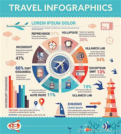 layout text poster travel infographics poster brochure cover template