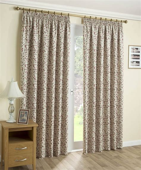 printed curtains designs willoughby red printed leaf design curtains net curtain