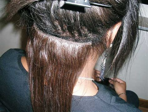 hair weave extensions extensions seamless weaving alexie s hair extentions