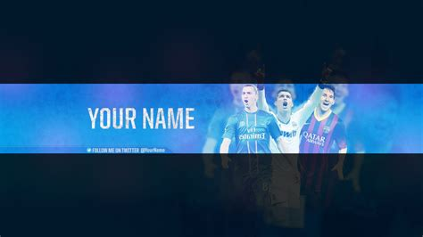 11 Youtube Banner Template Psd Images Youtube Banner Size Template Cool Youtube Banner Soccer Banner Template