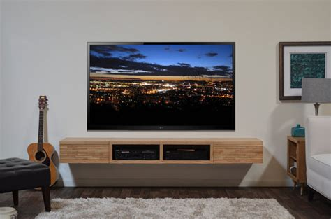 typical concept  floating media console homesfeed