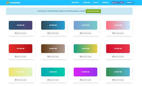 web color gradients in web design trends exles resources