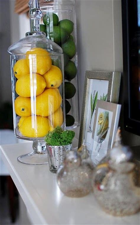 Kitchen Items With Lemons 25 Best Ideas About Apothecary Jars Kitchen On