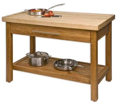 unfinished teak wood kitchen island table stand with