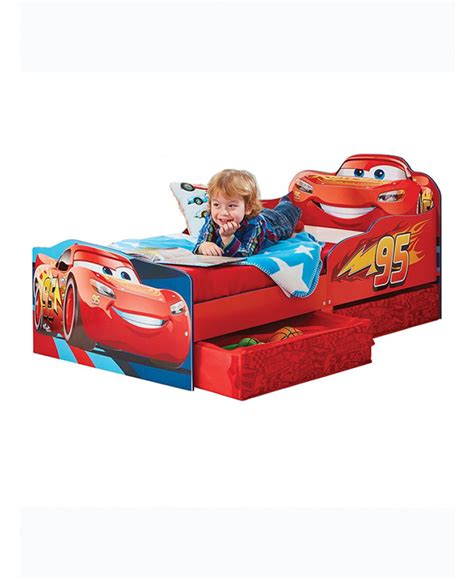 mcqueen toddler bed disney cars lightning mcqueen toddler bed with storage