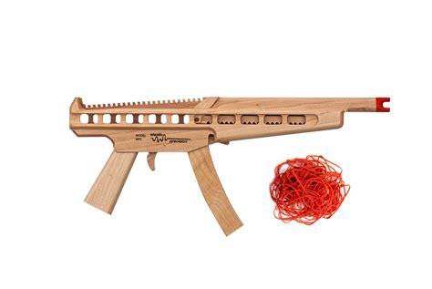 Rubber Band wooden mp5 rubberband gun gearnova