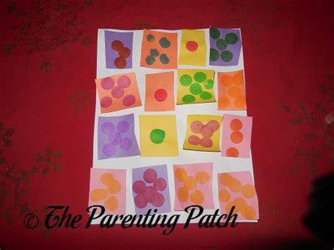 Paper Quilt Craft - construction paper quilt craft parenting patch