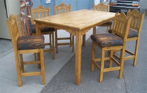 casa grande southwestern style dining tables