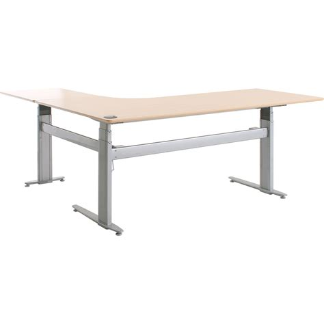 sit stand electric desk shop conset 501 27 laminate electric sit stand desks
