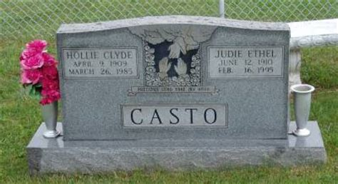 casto cemetery at plainview church