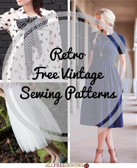 sewing pattern vintage free 54 retro free vintage sewing patterns allfreesewing com