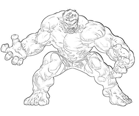 Coloring Pages Hulk Drawing | hulk pictures to draw az coloring pages
