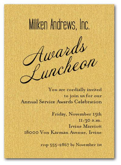 invitation templates for award ceremony gold sparkle business awards invitations
