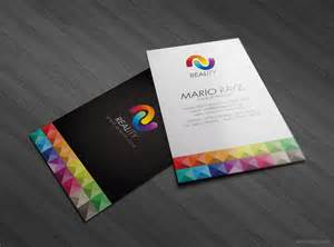 designs for business cards colorful business card design 8