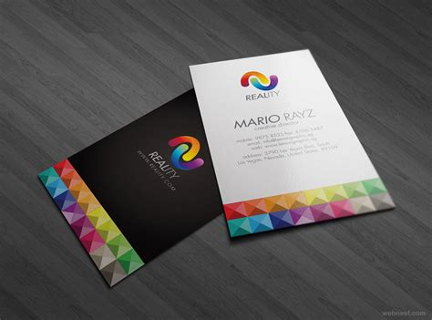 card design 30 colorful business card design exles for your inspiration