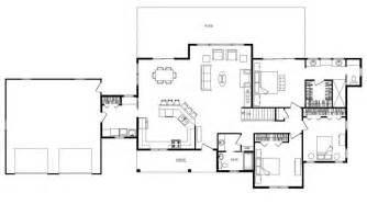 Open Concept Ranch Floor Plans by Ranch Open Floor Plan Design Open Concept Ranch Floor