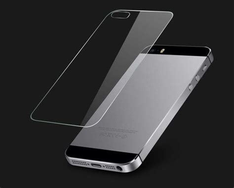Tempered Glass Iphone 5g5s Front An Back durable front and back tempered glass screen protector for iphone se 5 5s ebay